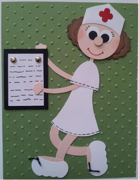 Nurse Card made a version of this card for Bailey's grad.