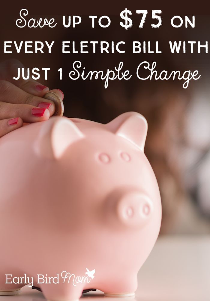 This one simple change is saving us $75 on every electric bill! Most people don't know that you may be able to lower your rate and save every month.