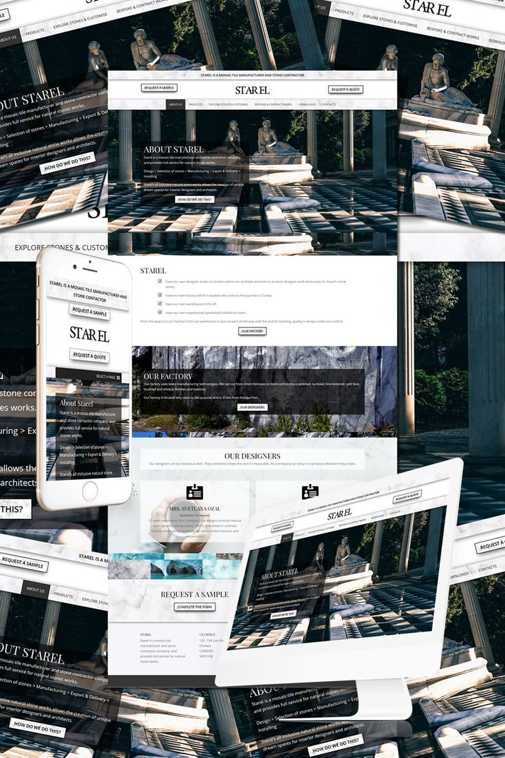 The New Website for Starel Marble Designers in Chelsea https://hostcat.co.uk/project/st-ar-el-marble/