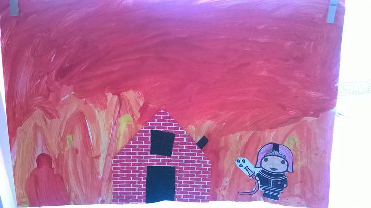 image Petra met de vlammen uit haar kut