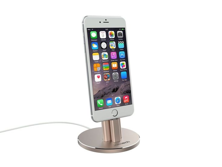 #iPhoneX Stand #Aluminum #Desktop #Charging #Stand with Rear Adjustable Support NEW