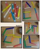 "Velcro on craft sticks from Rachel ("",)"