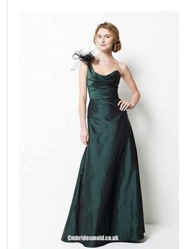 2013 beautiful bridesmaid One Shoulder Sleeveless Sheath Uk Bridesmaid Dress fashionweddingdress
