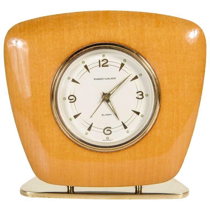 Superb Mid Century Modern Desk Clock