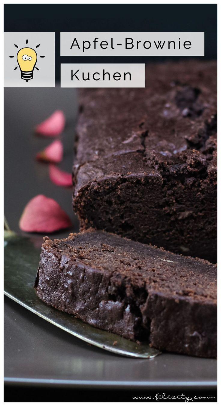 Apfel Brownie Kuchen Extra Saftig Und Schokoladig Schlemmerei