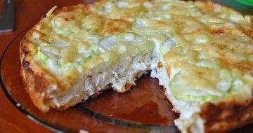 Plăcintă cu piept de pui și cașcaval – o mâncare sănătoasă cu puține calorii