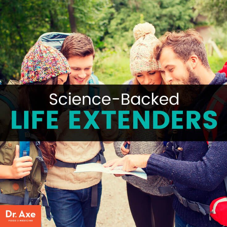 Life extenders - Dr. Axe