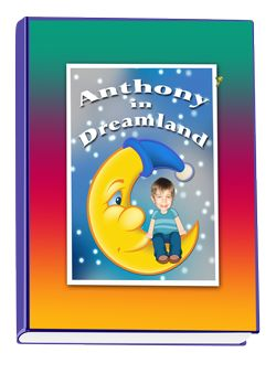 Dreamland book, a personalized adventure book filled with kids favourite things, great gift for toddlers, preschool, and school age