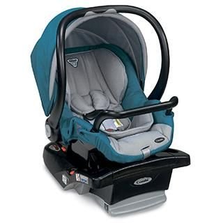 A lightweight infant seat with an easy-adjust harness and rebound bar that's compatible with all Combi strollers.