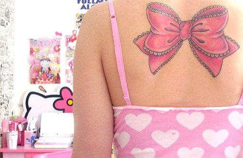 bow tattoos designs | Bow Tattoo – I Want One