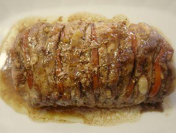 Lomo de cerdo a la italiana