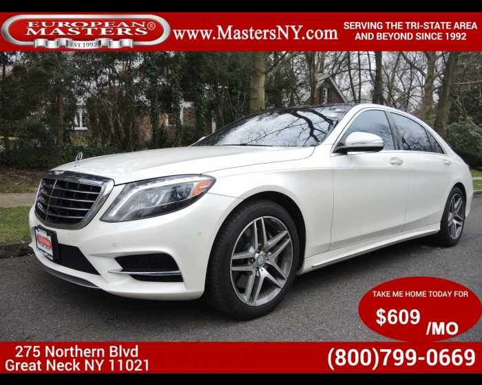 2014 MERCEDES-BENZ S-CLASS S550 4MATIC  - $57995,  http://www.theeuropeanmasters.net/mercedes-benz-s-class-s550-4matic-used-great-neck-ny_vid_6217023_rf_pi.html