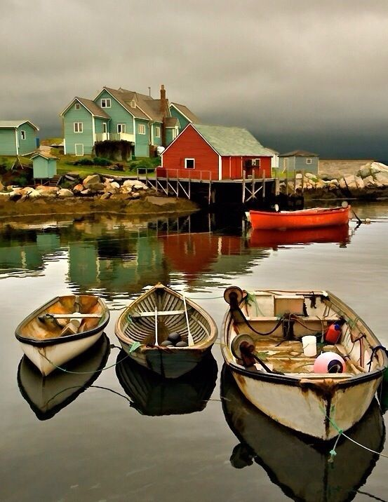 Peggy's Cove, Nova Scotia - visit along with Prince Edward Island/site of Anne…
