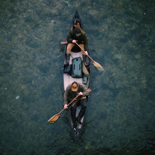 Canoes, Kayaks & Row Boats | Men, paddles, canoe & lake