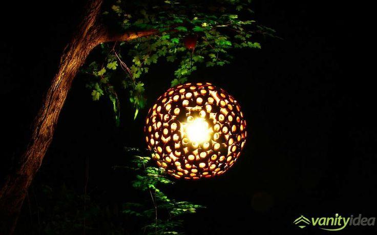 wooden lamp decor