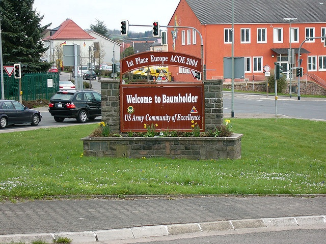 The Entrance to the Baumholder Base Favorite Places