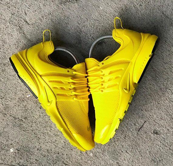 all yellow prestos womens