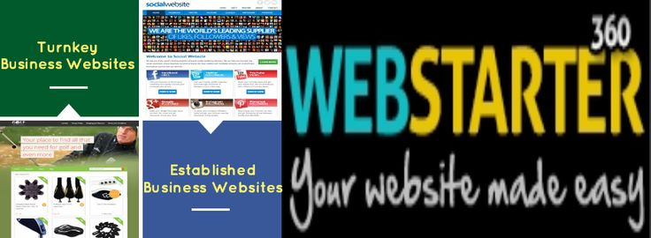 Turnkey Business Websites For sale - Start your own online business and money easily. http://www.webstarter360.com/turnkey-websites-for-sale/