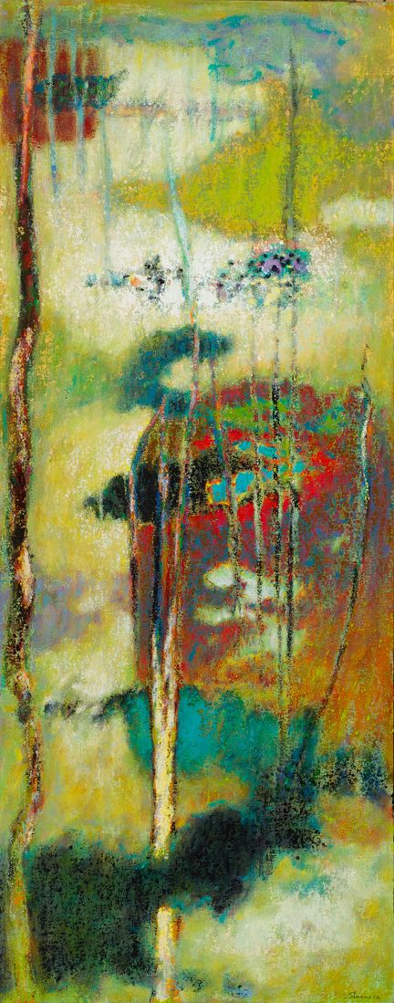 """Rick Stevens """"The Nature of What Arises"""", 2013 Oil on Canvas"""