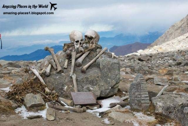 mysterious places in america | Mysterious lake skeletons in India, Asia, Amazing Lake