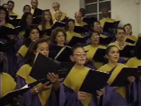 Salmo 142 Coral do Belém Assembléia de Deus Paz do Senhor a todos musicas de coral e também orquestra