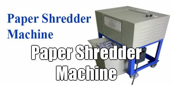 Paper shredder machine from Raj Electricals can shred paper with paper clips and staples, thick paper, cartons hence used also useful as carton shredder, mono cartons, corrugated boxes, newspaper, laminates, cheque leaflets, etc.  This paper shredder is vibration free. It is easy to clean and lubricate.