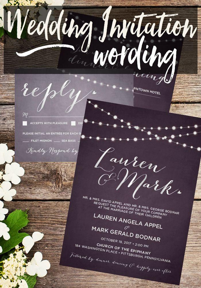 creative wording for rehearsal dinner invitations%0A Wedding Invitation Wording