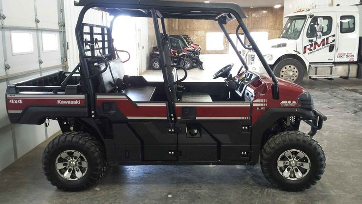 Best Kawasaki Mule Pro Fxt Le  Images On   Atvs