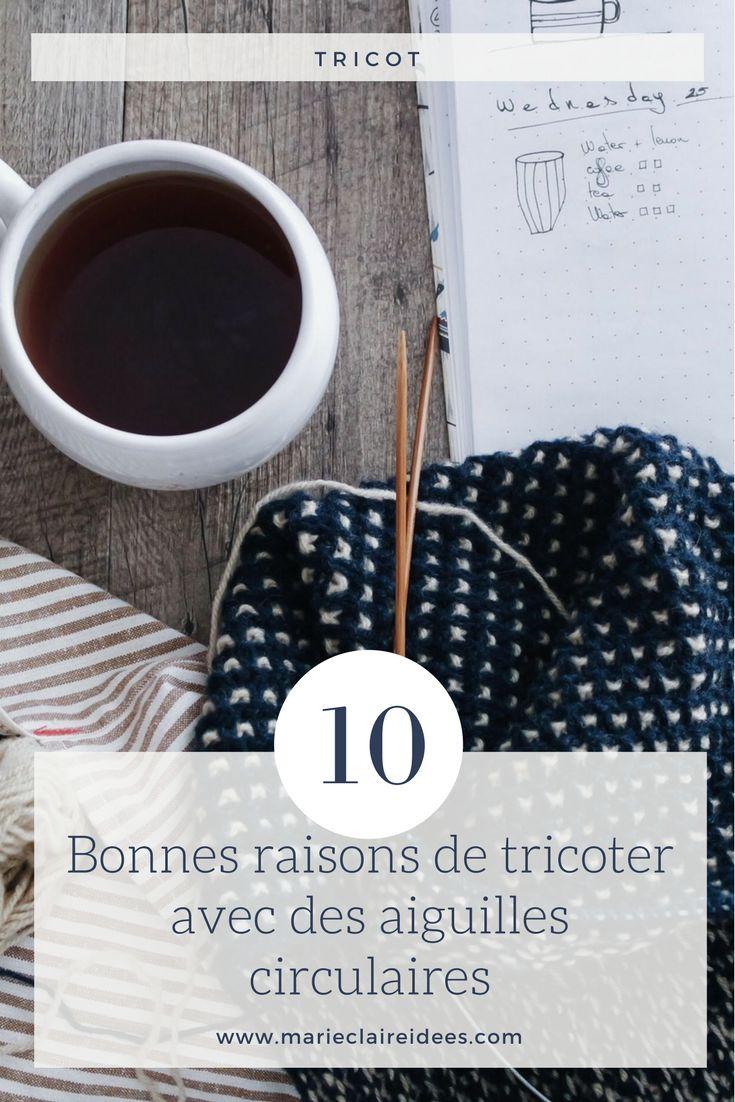 Les 761 meilleures images du tableau tricot knitting sur pinterest tricot pull tricots et alice - Comment tricoter avec des aiguilles circulaires ...