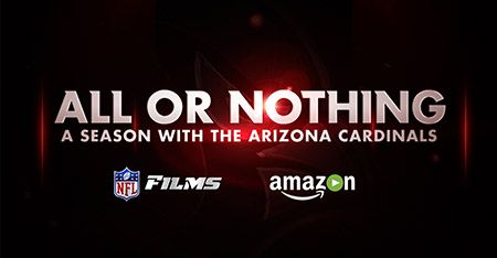 NFL Films Announces Groundbreaking New Series All or Nothing on Amazon Video