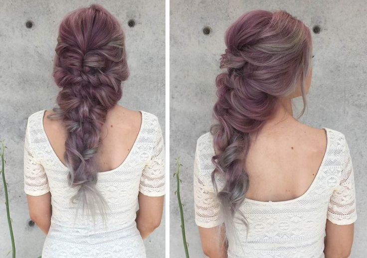 Mermaid Curly Hairstyle How To