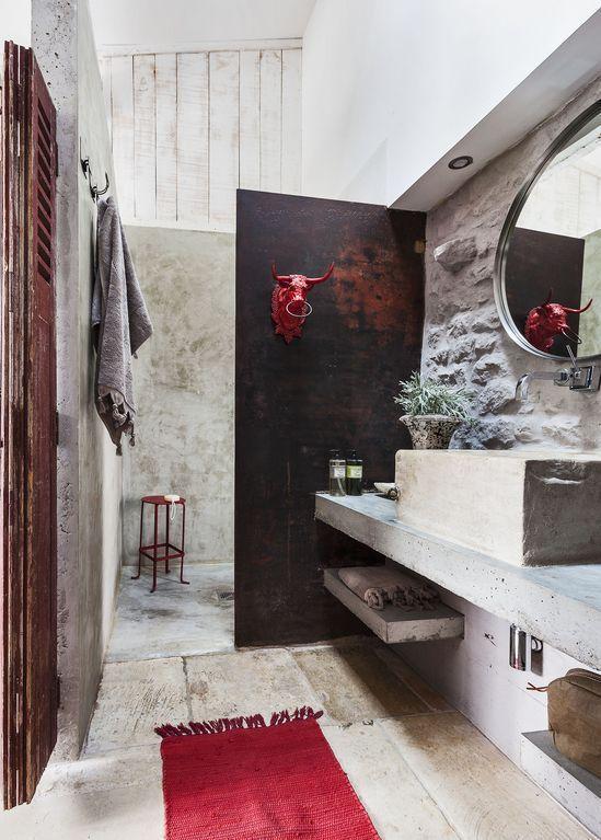 La rénovation d\u0027une maison au design campagnard contemporain - maison en beton banche