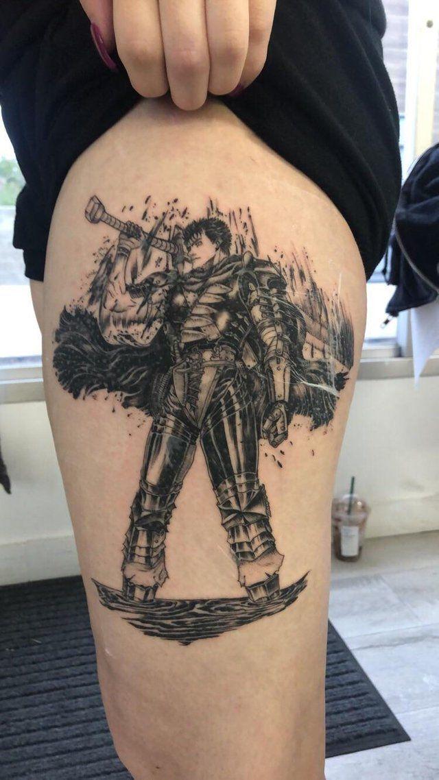 Self Berserk Tattoo Berserk Tattoos Berserk Cool Tattoos
