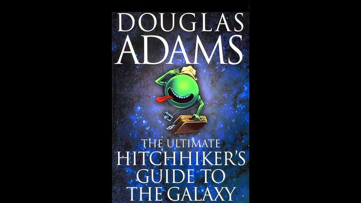 hitchhiker 39 s guide to the galaxy douglas adams 1979 audiobook pa videos pinterest. Black Bedroom Furniture Sets. Home Design Ideas
