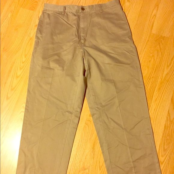 Nautica Men's khaki pants Nautica men's khakis size 34w/30L relax fit 100% cotton never been worn from a smoke free house Nautica Pants Trousers