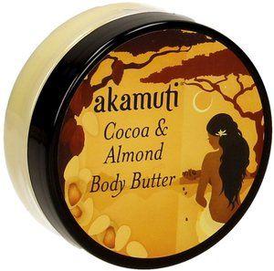 Akamuti Cocoa & Almond Body Butter, 50 ml   Ecco Verde