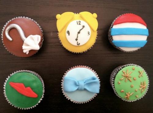 Peter Pan cupcakes :)