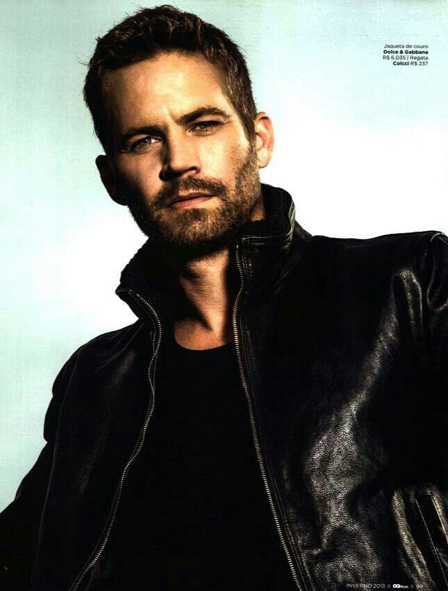 "Paul Walker. I'm beginning to think I have a ""type."" I mean. Tall, Brunette, Handsome. My husband is a prime example, as well as all these men :P"