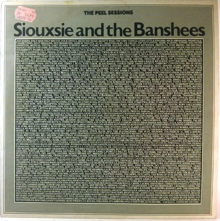 Siouxsie And The Banshees - The Peel Sessions