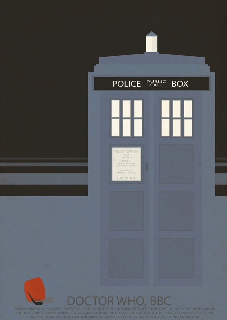 Doctor Who creative poster by Helle Brandt