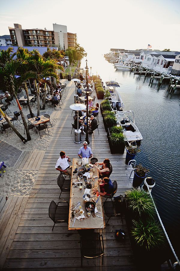Nothing is better than crabs on the water at sunset. Blu Crabhouse in Ocean City. #ocmd
