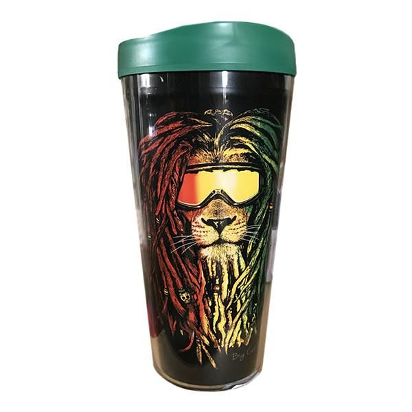 Cup - Tumbler Rasta Lion