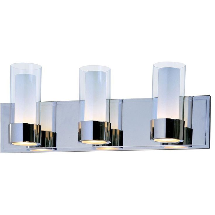 Image Gallery Website Maxim Lighting Silo Light Polished Chrome Bath Vanity Light