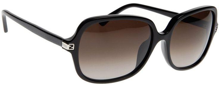 Amazon.com: Fendi Women's Silhouette Sunglasses, Black