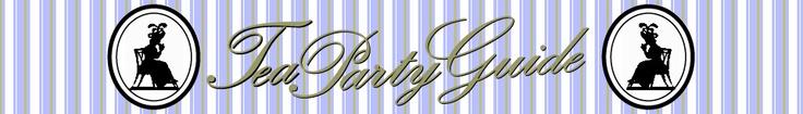 Tea Party Etiquette - good information, ideas, education!! ;)