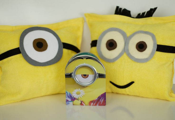 DIY Minions Pillow Tutorial With Step-By-Step Guide To Creating These Adorable Pillows In Celebration Of The Minions Movie Release