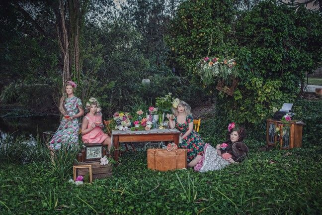 Bohemian Tea Party at Katandra Gardens - Lens to Life Photography