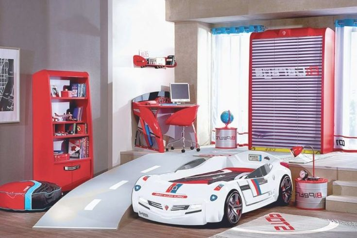 Kids Bedroom:Kids Car Bedroom Set Spectacular Sports Twin Race Car Bed | Twin Bed Inspirations For Kids Car Bedroom Set