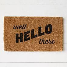 Door Rugs, Doormats & Contemporary Door Mats | West Elm