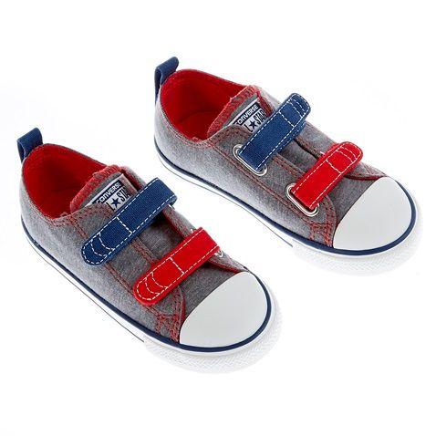 Βρεφικά παπούτσια Chuck Taylor γκρι - CONVERSE (1358505) | Factory Outlet